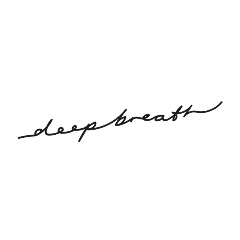 Deep Breath artwork on white