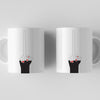 Long Middle Finger Mug Front and Back