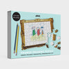 Pikkii framed drawing blank jigsaw puzzle Gift Packaging Front