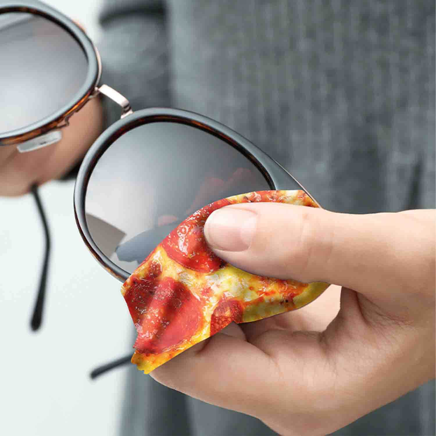 Pizza Lens Cleaning Cloth 🍕