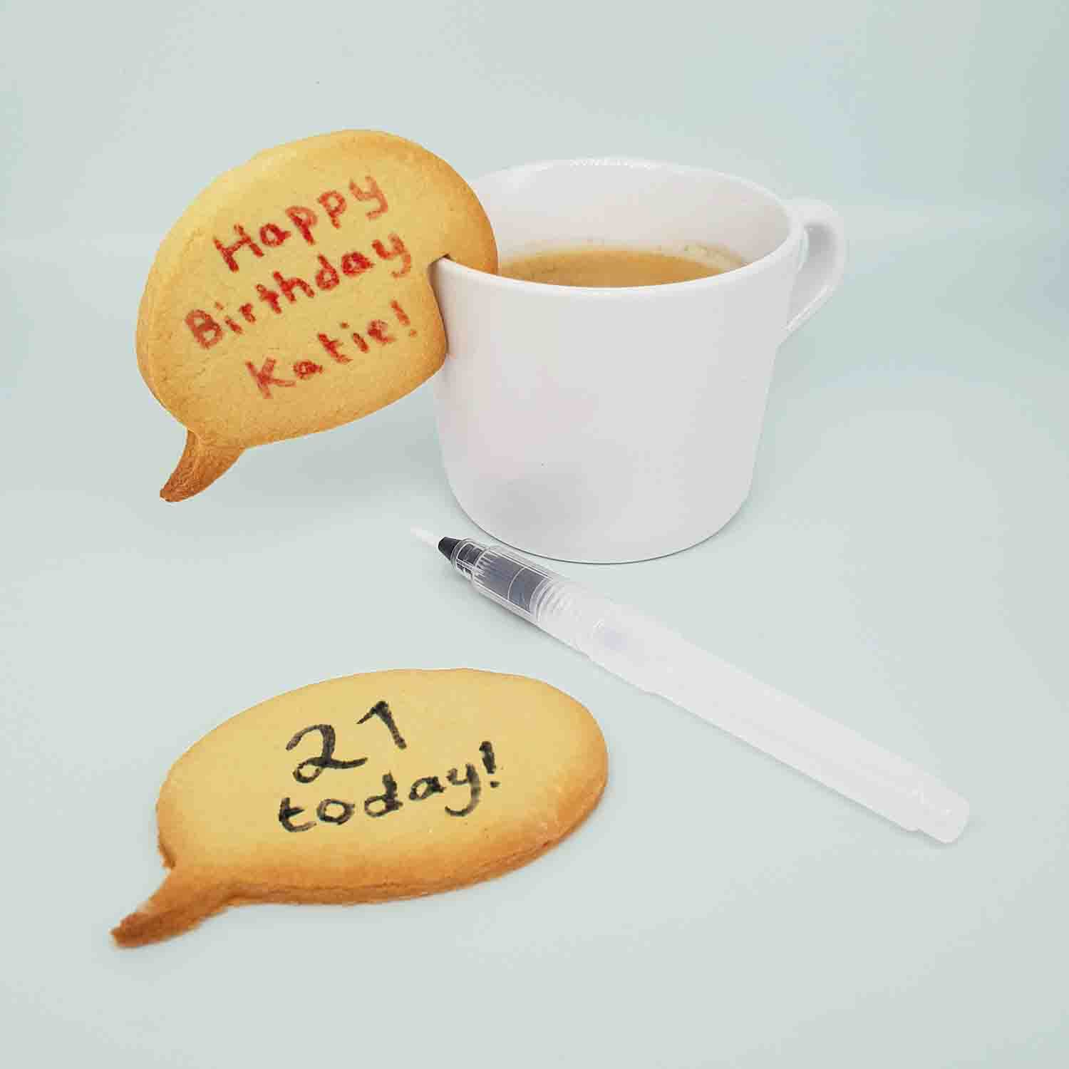 Speech Bubble Cookie Kit 🍪