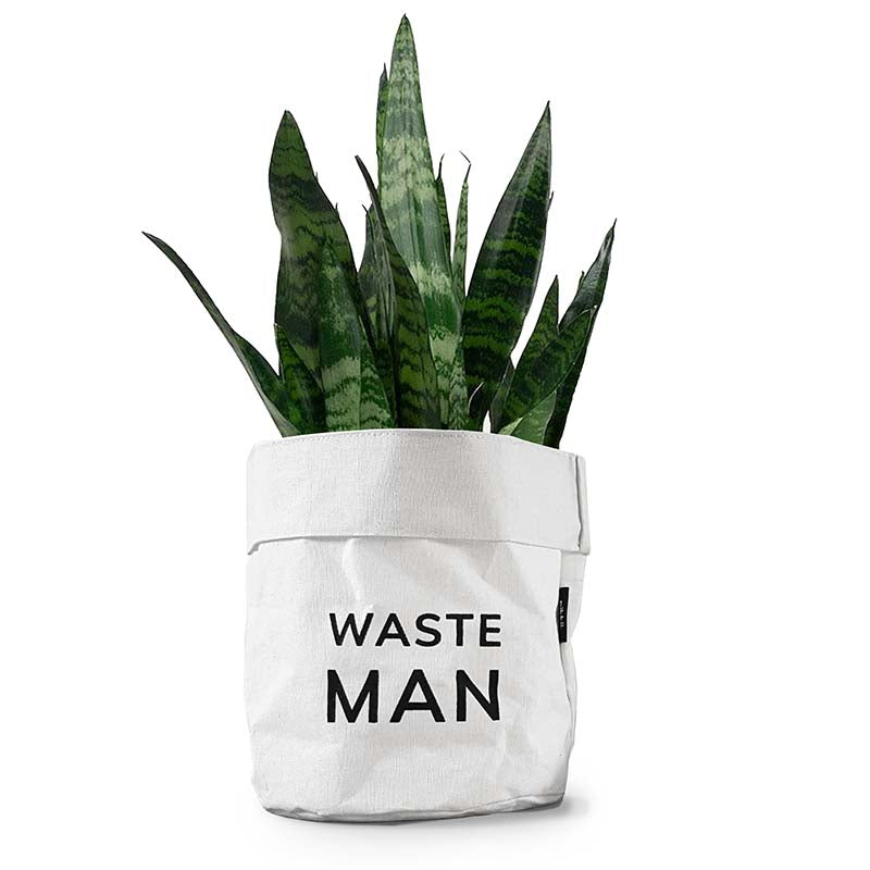 Waste Man Plant Pot Cover by Pikkii