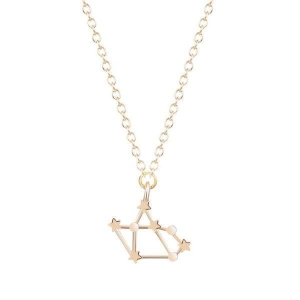 Libra Constellations Star Necklace