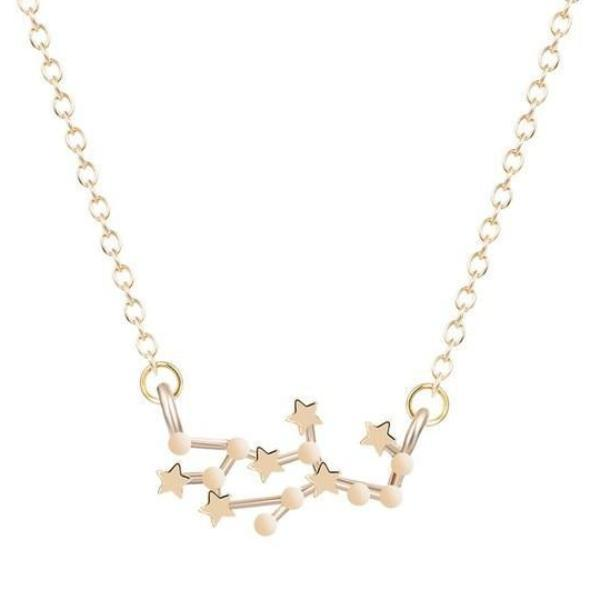 Gemini Constellations Star Necklace