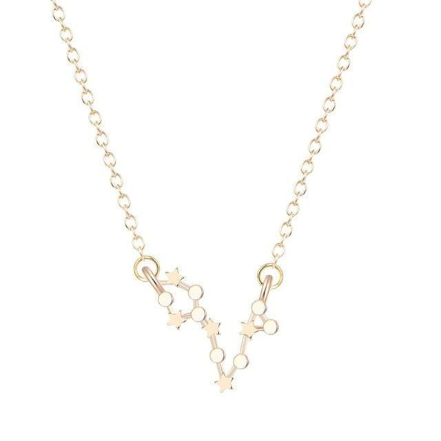 Pisces constellation necklace