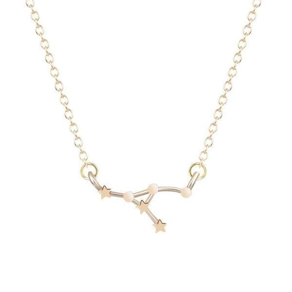 Cancer Constellations Star Necklace