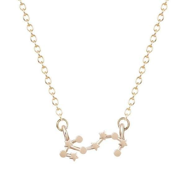 Aries Constellations Star Necklace