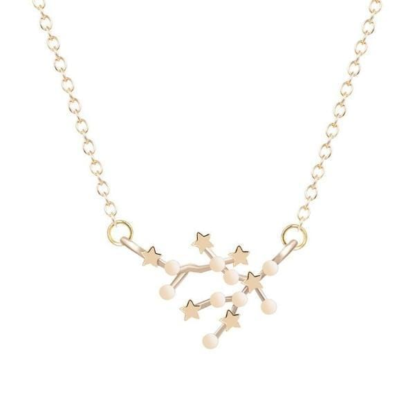 Sagittarius Constellations Star Necklace