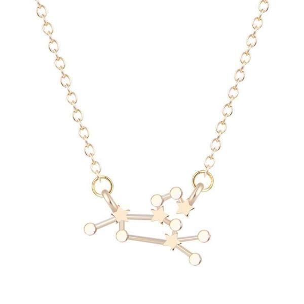 VIrgo Constellations Star Necklace