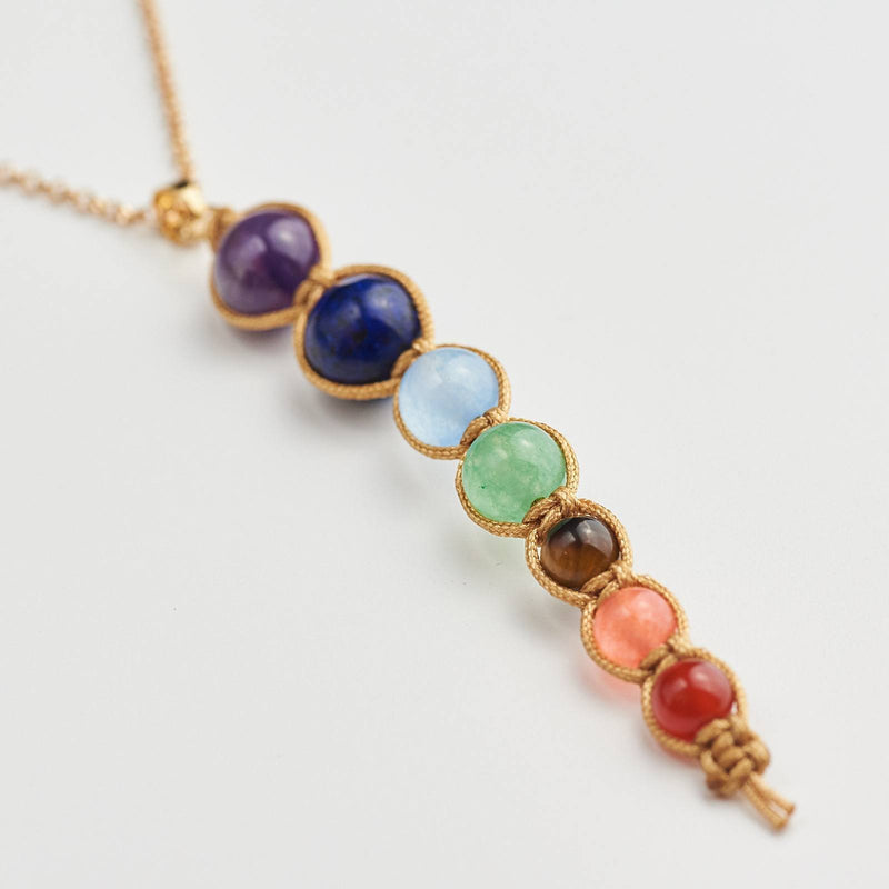 The 7 Chakra Necklace