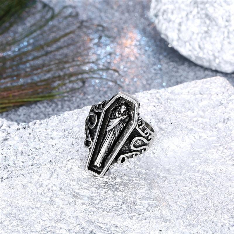 Ancient Egyptian Mummy Coffin Ring