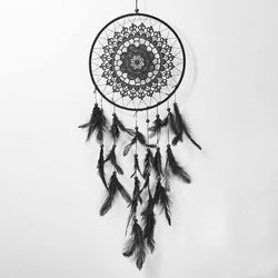 Black Dream Catcher Wind Chimes