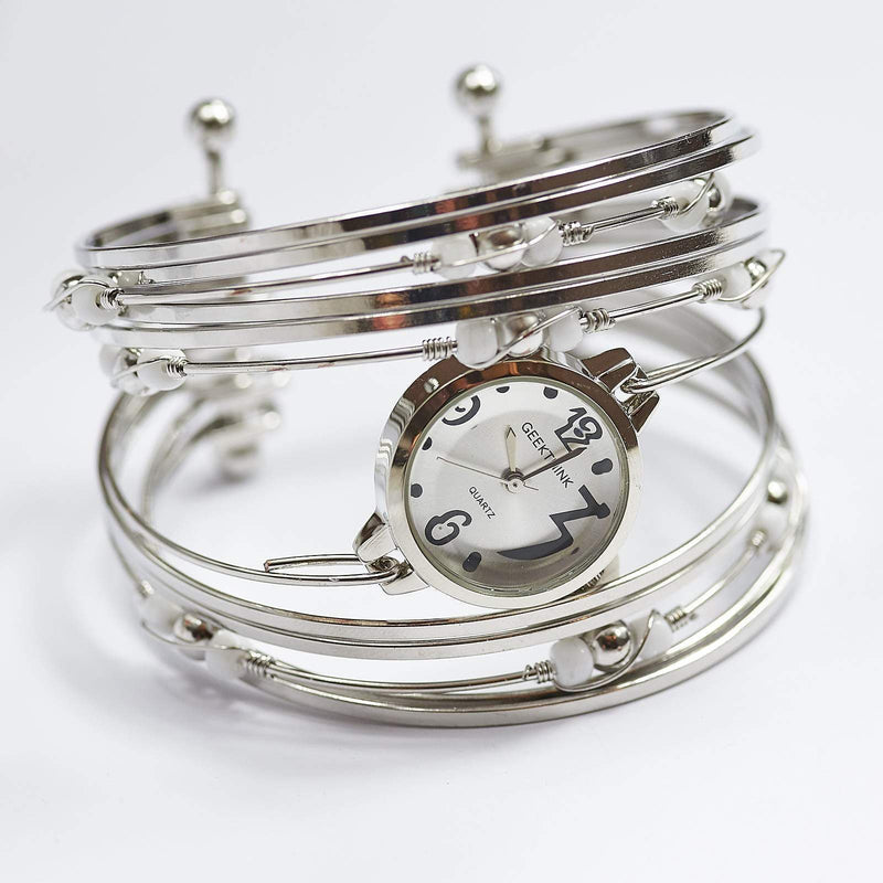 Bohemian Quartz Bangle Watch