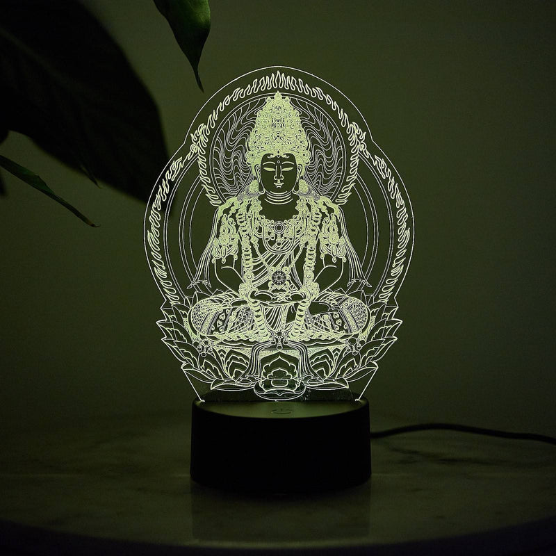 Buddha Color Changing Night Lamp
