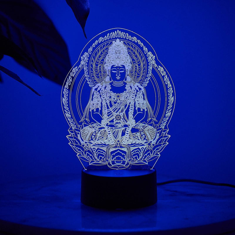 LED Buddha Night Lamp