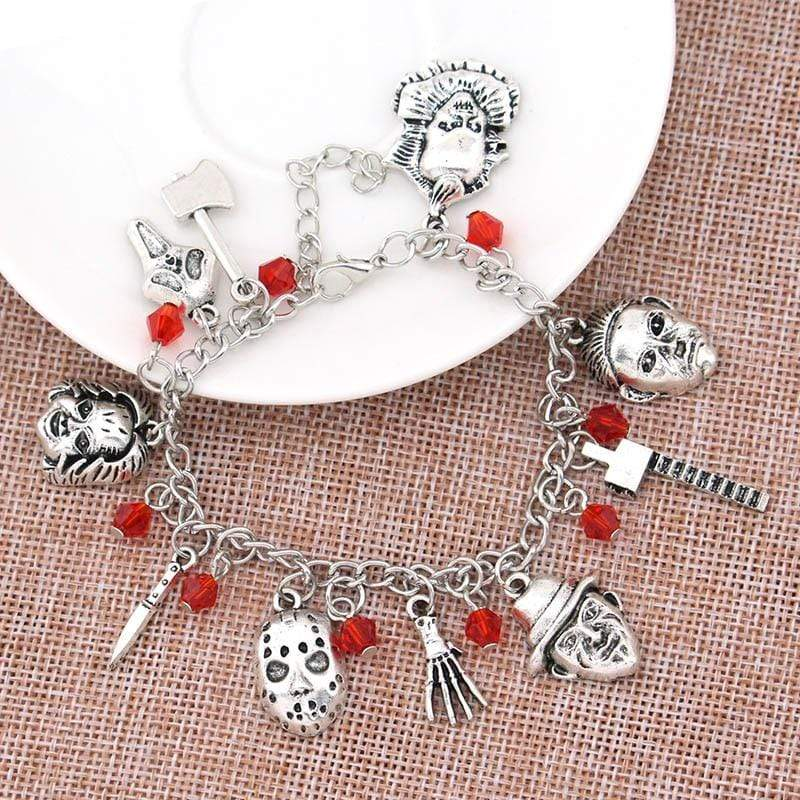 Classic Horror Movies Charm Bracelet