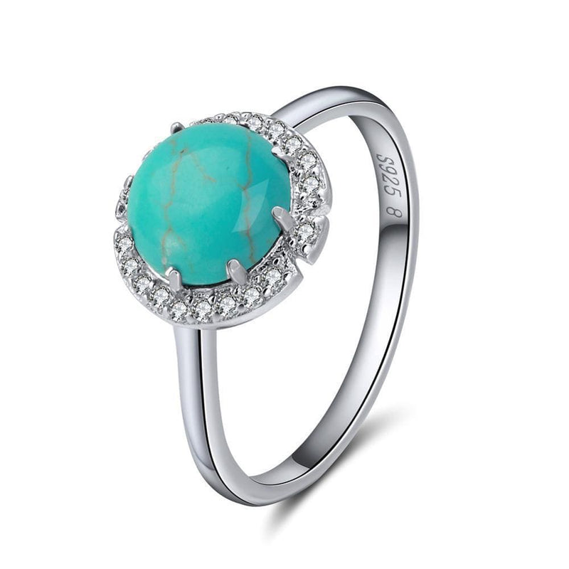 December Birthstone Turquoise Ring
