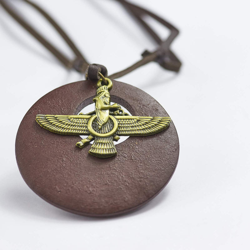 Bronze Eagle Necklace