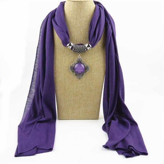 fashion Scarf Necklace