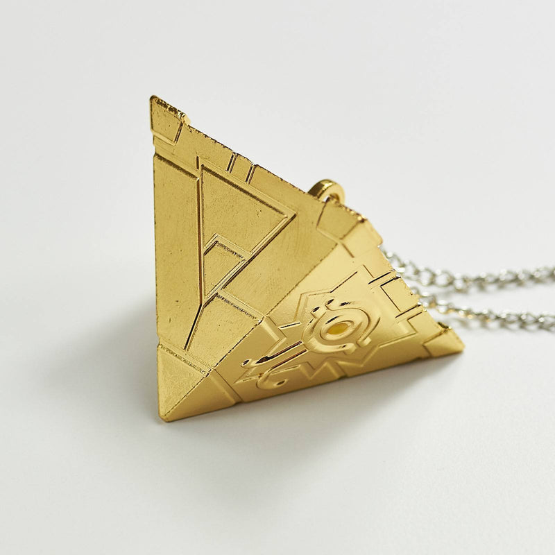 Eye Egyptian Pyramid Necklace