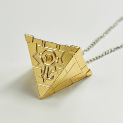 Eye Of Horus Egyptian Pyramid Necklace