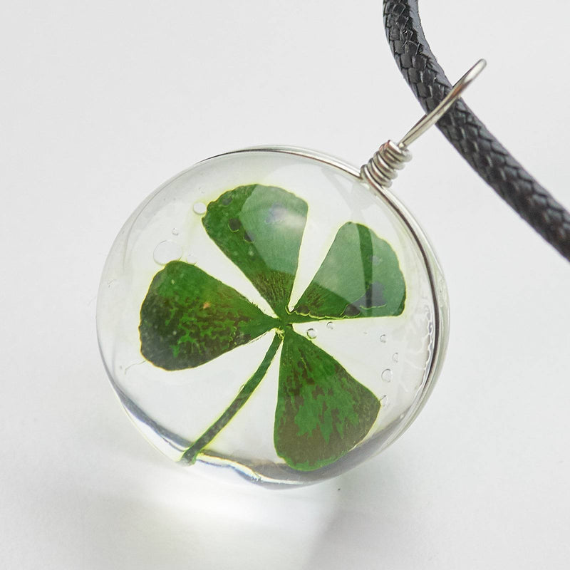 Clover Locket Necklace
