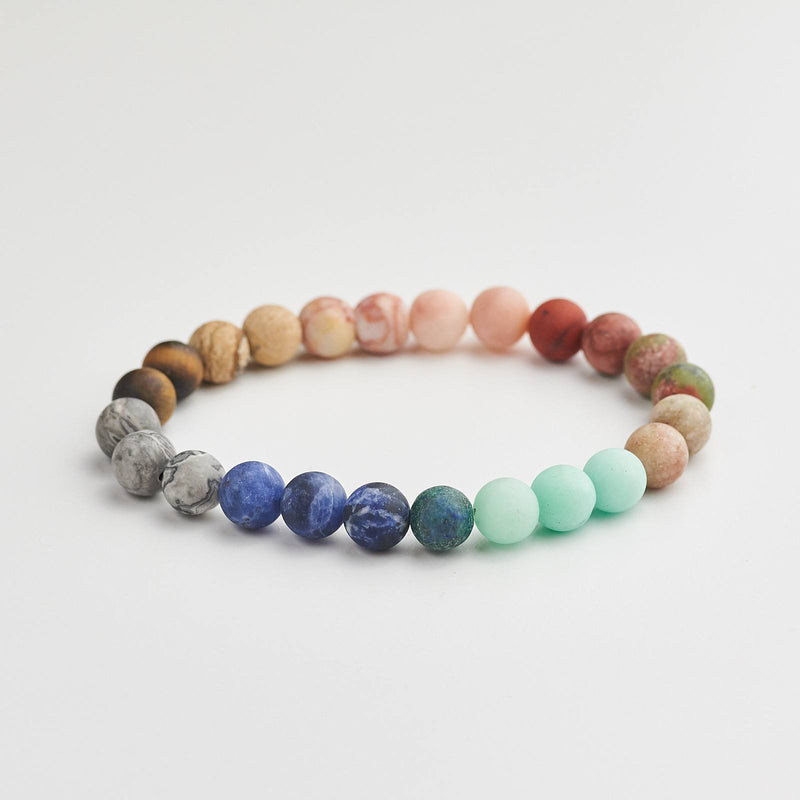 Galaxy Bracelet With Natural Stone