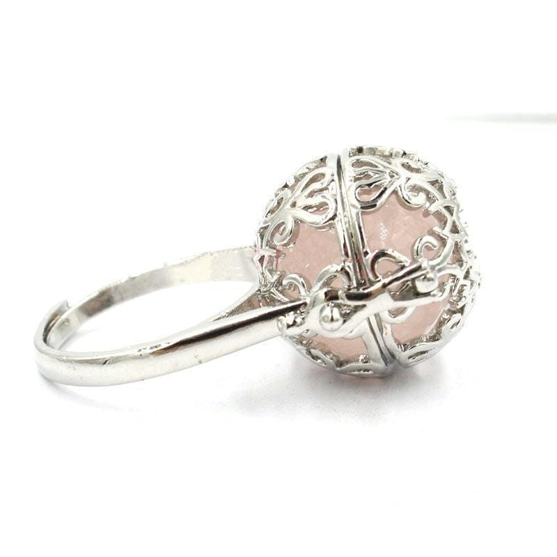 Healing Locket Rose Ring