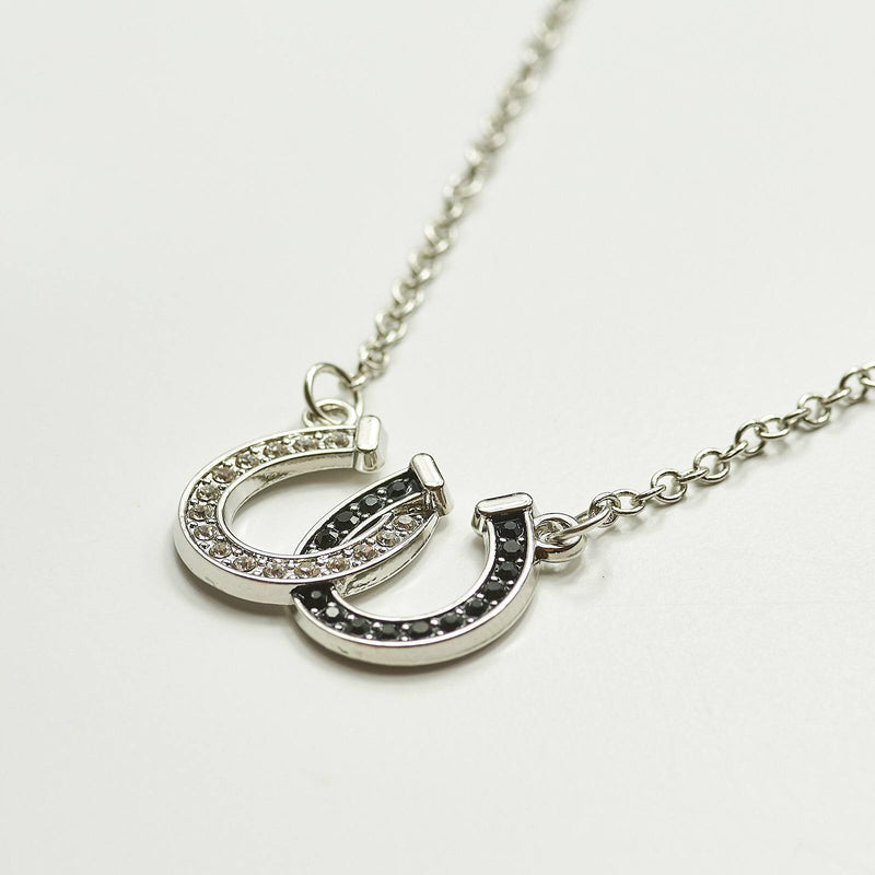 Horseshoe Crystal Necklace