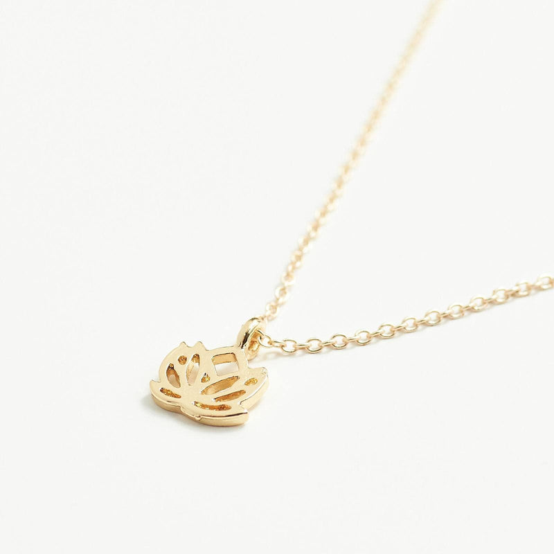 Lotus Flower Wish Necklace