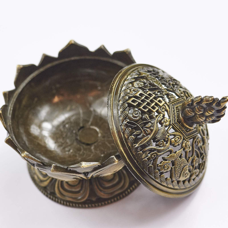 Lotus Incense Cone Holder