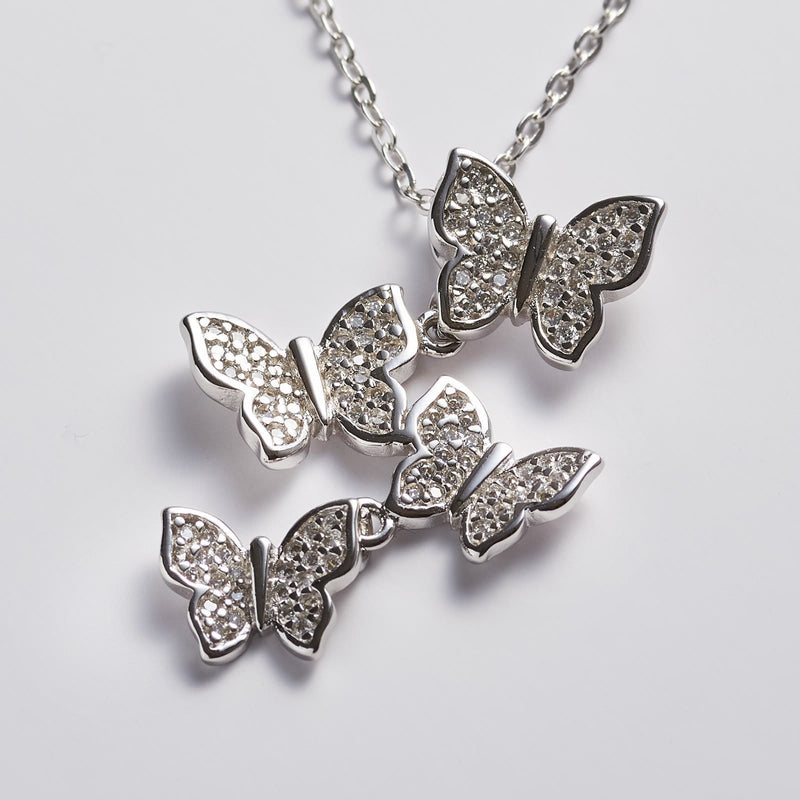 Lucky Butterfly Choker Necklace