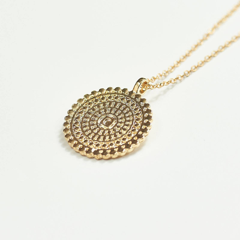 Mandala Flower Chain Necklace