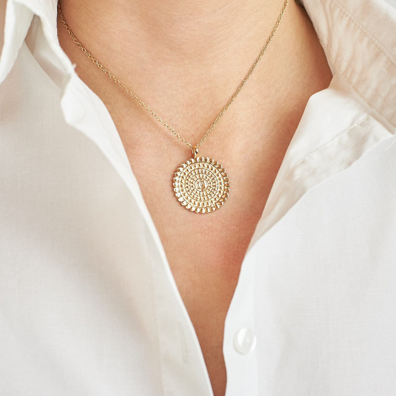 Mandala Chain Necklace