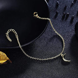 Moon Bracelet in 18K Gold Plated