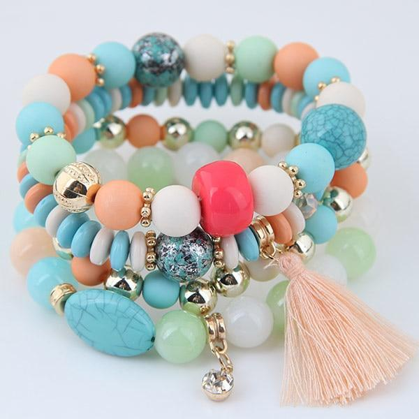 Multilayer Tassel Bracelet