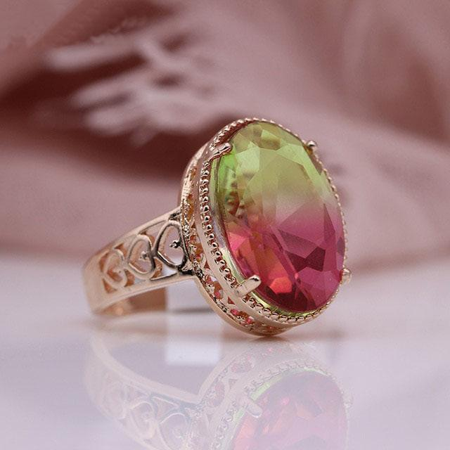 October Birthstone Tourmaline Ring
