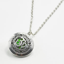 Om Pendant Essential Oil Diffuser Necklace