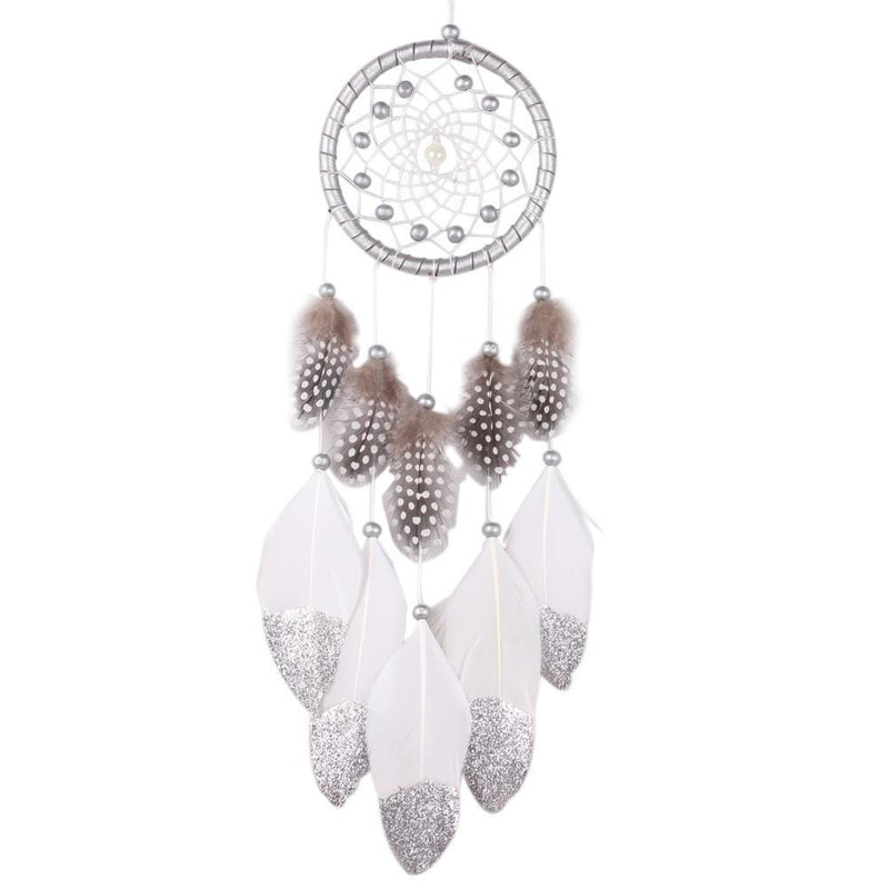 Silver Shamanic Dream Catcher