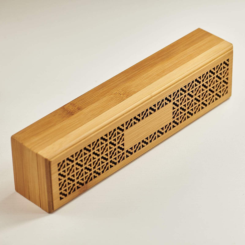 Incense Burner Bamboo Box