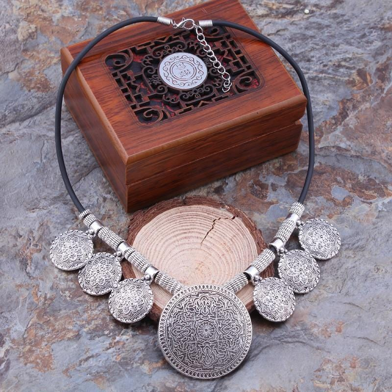 Tibetan Moon Necklace
