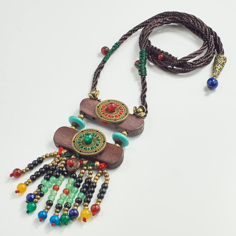 Tibetan Turquoise Statement Necklace
