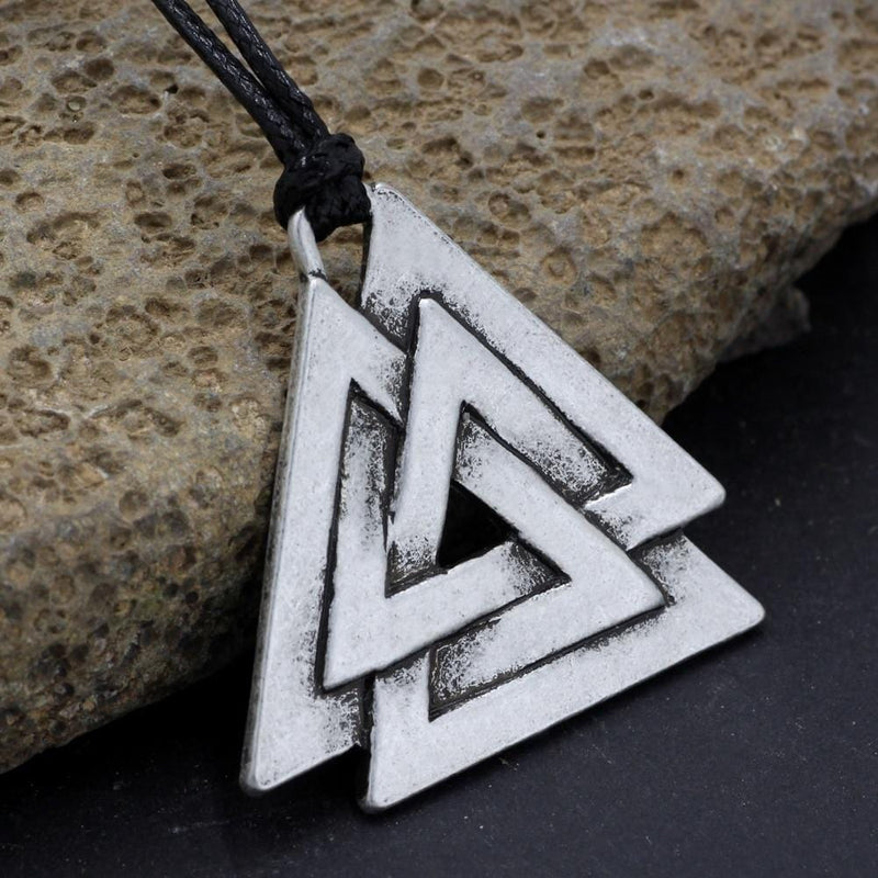Necklace With Odin Symbol