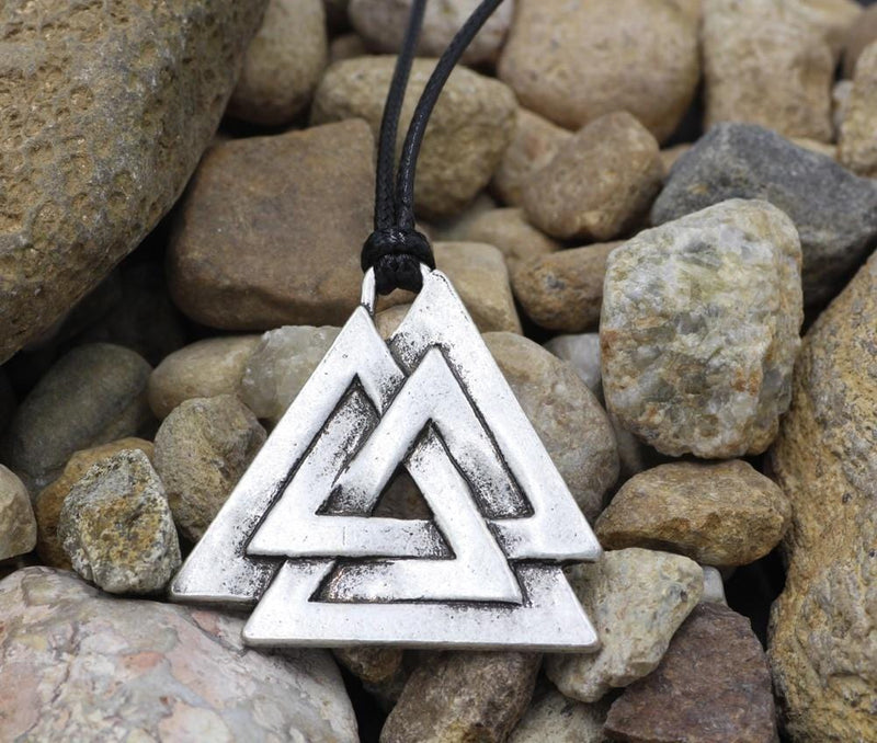 Valknut Necklace With Symbol