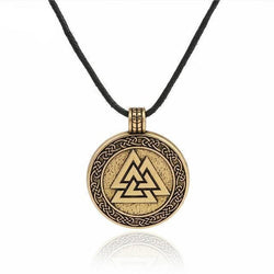 Valknut Warrior Necklace