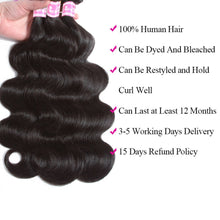 Peruvian Body Wave Human Hair Bundles With Frontal Closure
