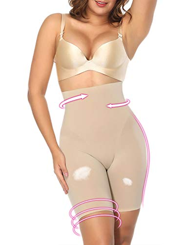 BODYBY CHOCO  High Waist Body Shaper Seamless Butt Lifter Shapewear Tummy Control Panties Women Thigh Slimmer