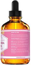 Jojoba Oil by Leven Rose, Pure Cold Pressed Natural Unrefined Moisturizer for Skin Hair Body and Nails 4 oz: Health & Personal Care