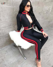 summer 2019 women tops and pants two piece set tracksuit women