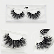 LASH BY YANKAI 3D Silk Eyelashes Hand Made Natural Long Faux Mink Lashes Vegan Cruelty Free